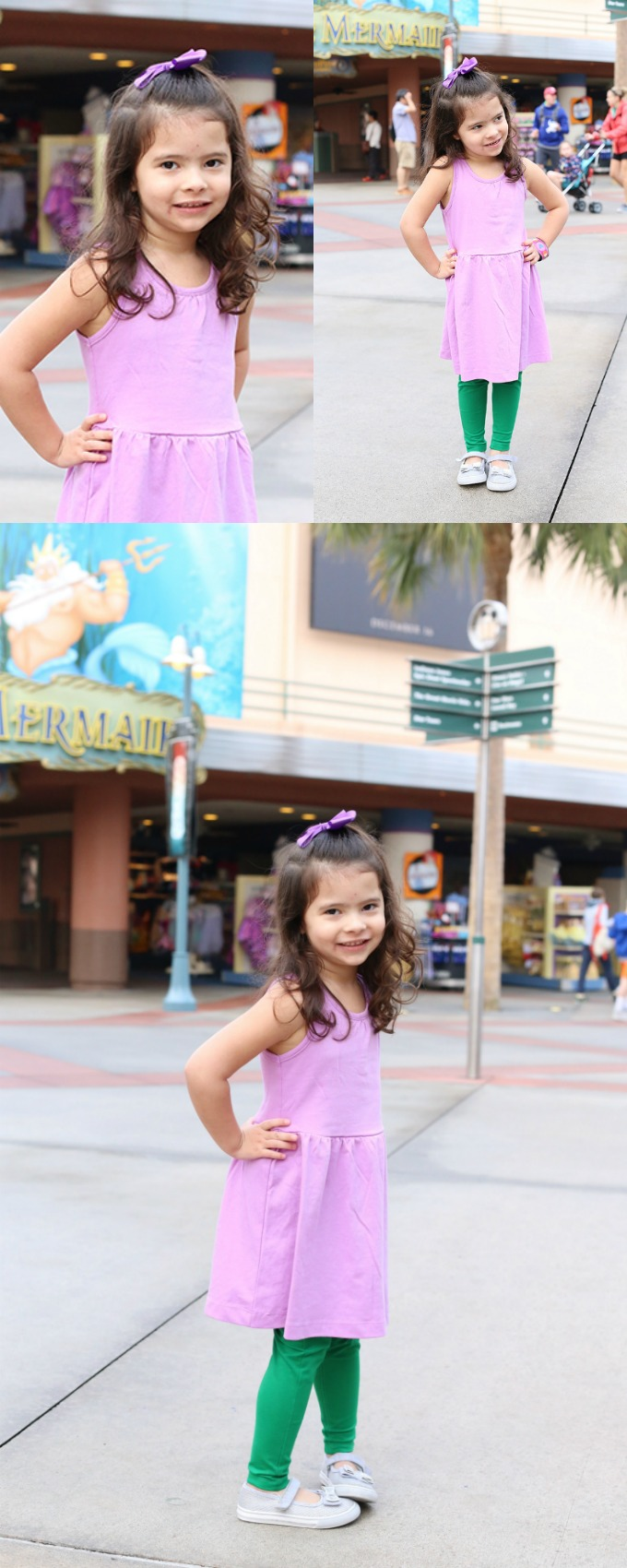 Little Mermaid Disneybounding for Kids