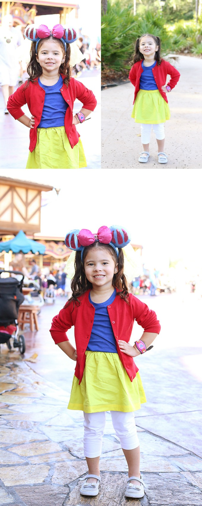 Snow White Disneybounding for Kids