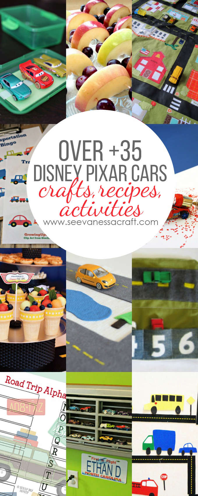 Disney Pixar Cars Crafts Recipes Activities copy