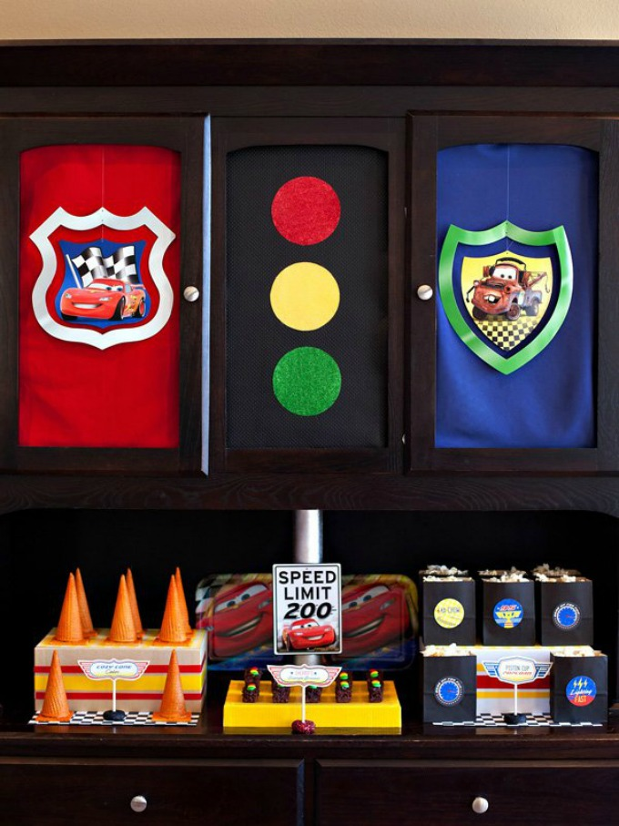 Disney Pixar Cars Party Menu Ideas