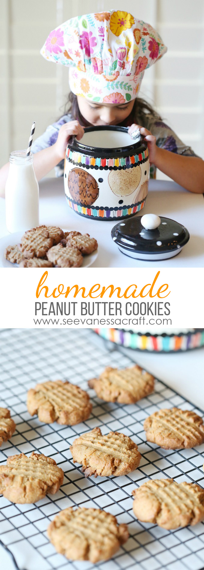 Homemade Dairy Free Peanut Butter Cookies Recipe