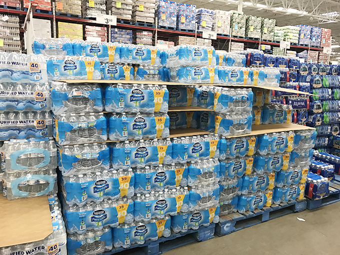 Nestle Water Sams Club