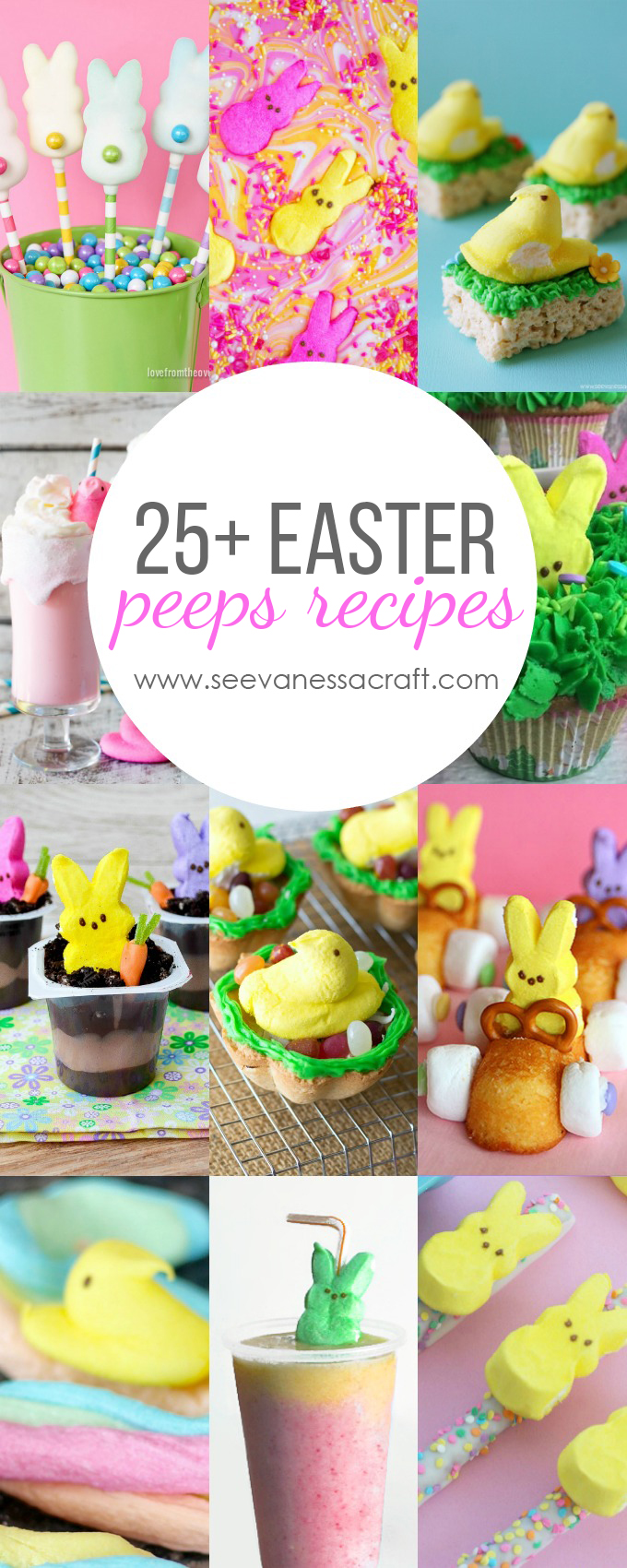 Over 25 Easter Peeps Recipes