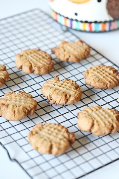 Homemade Dairy Free Peanut Butter Cookie Recipe