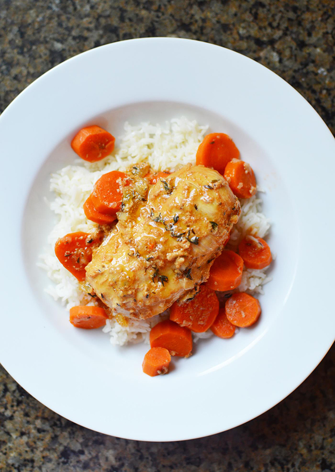 Instant-Pot-Honey-and-Thyme-Chicken-Recipe-2
