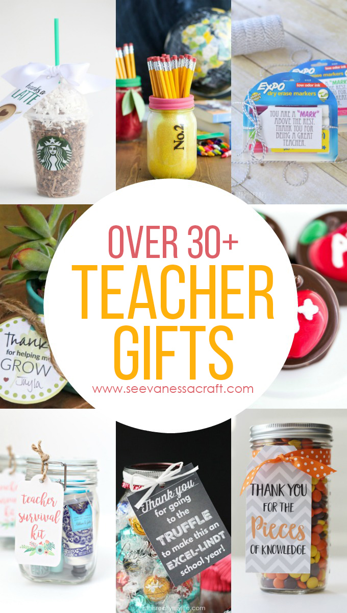 Over 30 Teacher Appreciation Gift Ideas copy