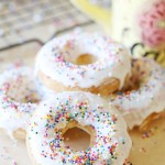 Recipe: Funfetti Cake Mix Donuts