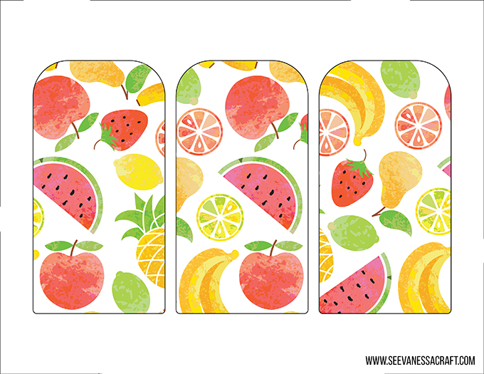 Printable Popsicle Banner