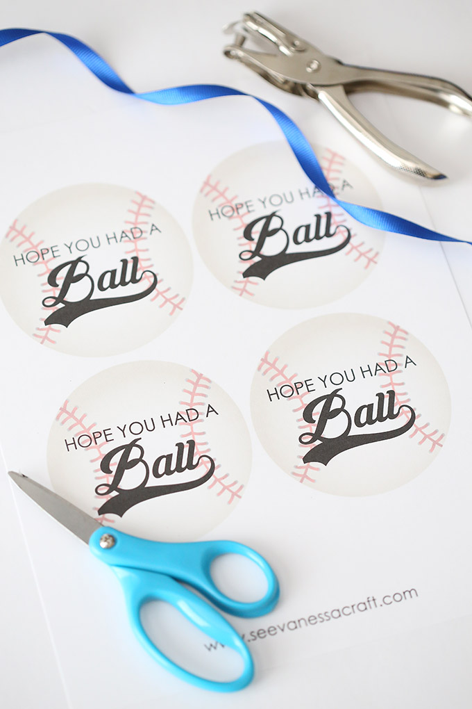 Baseball Party Favor Tags 1 copy