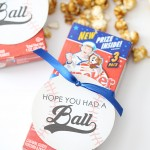 Party: Baseball Birthday Party Favor Tags