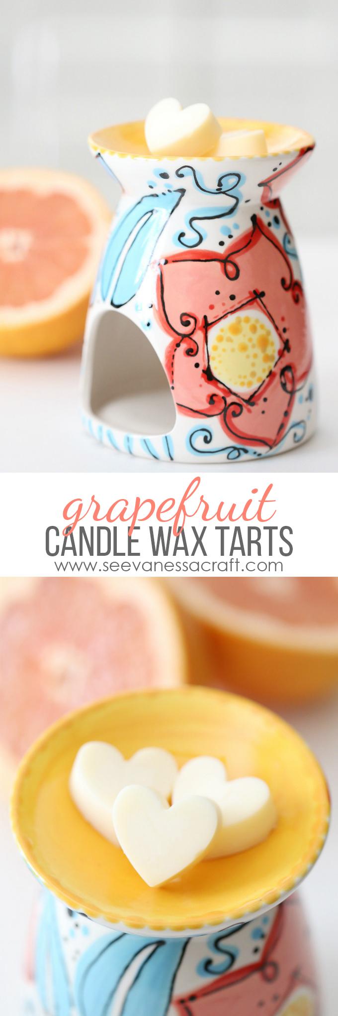 Grapefruit Candle Wax Tarts Recipe