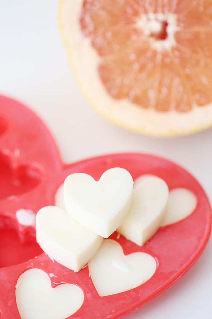 Grapefruit Wax Candle Tart 3 copy