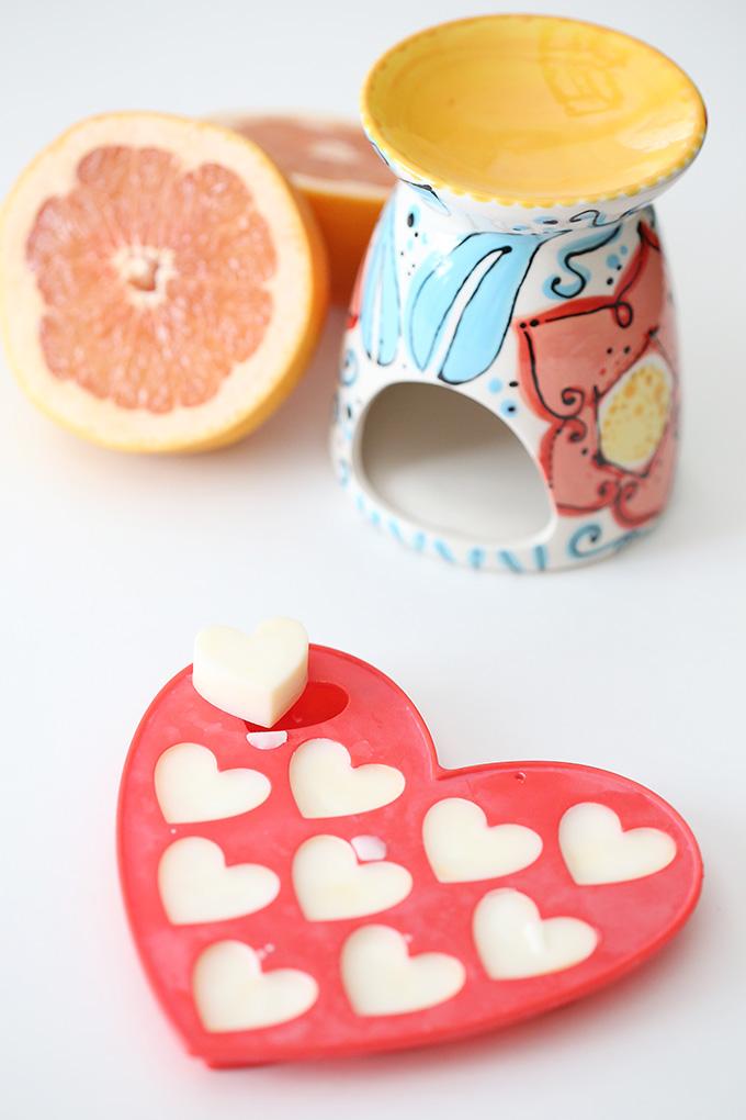 Grapefruit Wax Candle Tart 5 copy