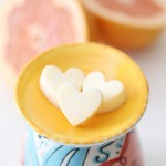 Craft: Grapefruit Candle Wax Tarts
