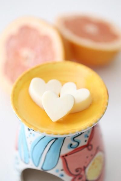 Grapefruit Wax Candle Tart 6 copy