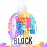 Craft: LEGO Soap Teacher Gift with Cricut