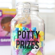 Craft: Potty Prizes Jar for Potty Training