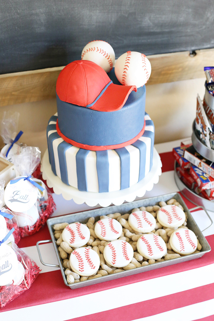 Awesome Party Baseball Birthday Party With Arizona Diamondbacks See Funny Birthday Cards Online Overcheapnameinfo