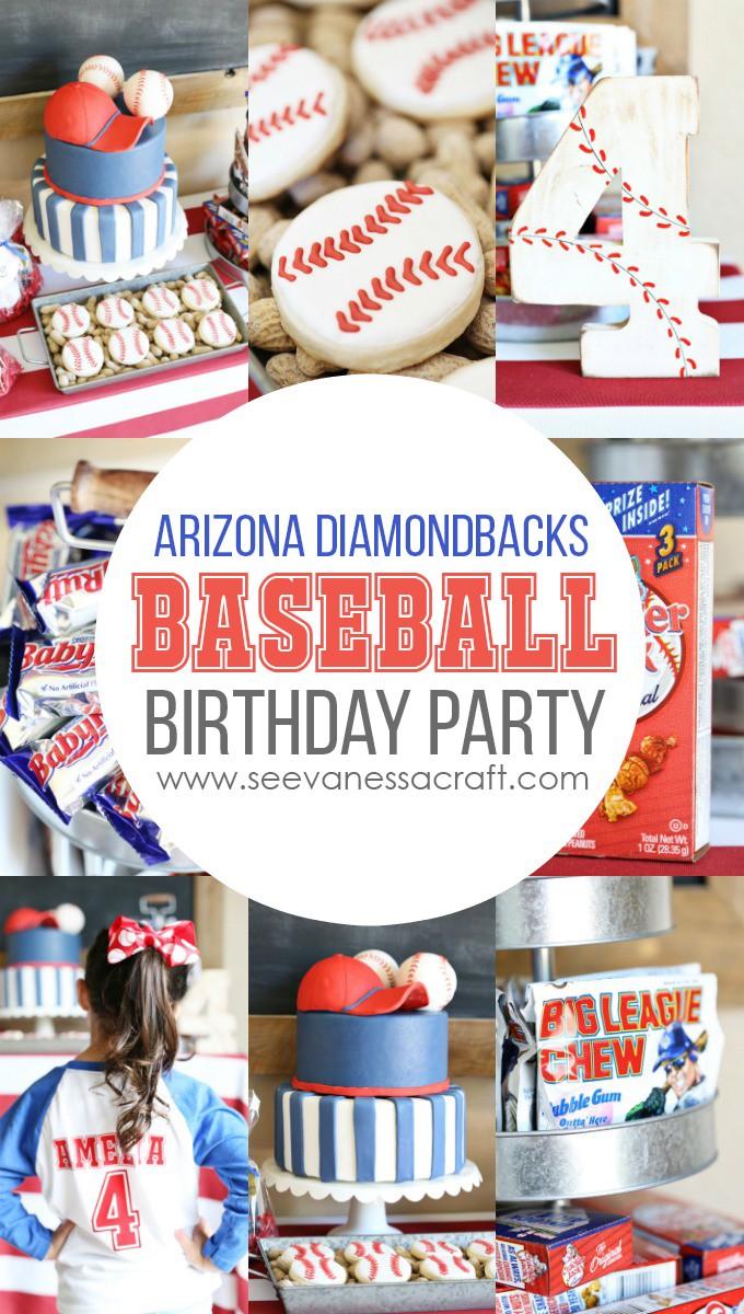 Baseball Birthday Party at Chase Field with Arizona Diamondbacks copy