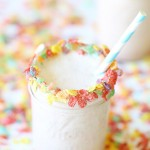 Recipe: Fruity Pebbles Ice Cream Milkshake