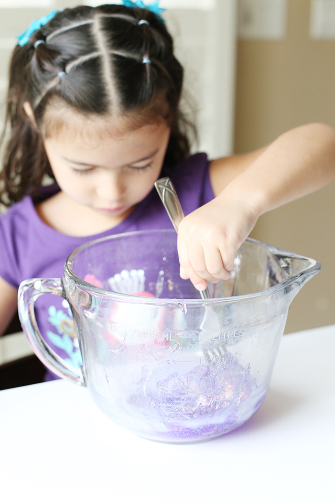 Unicorn Glitter Slime Recipe 3 copy