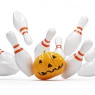Halloween: DIY Jack-O-Lantern Pumpkin Bowling