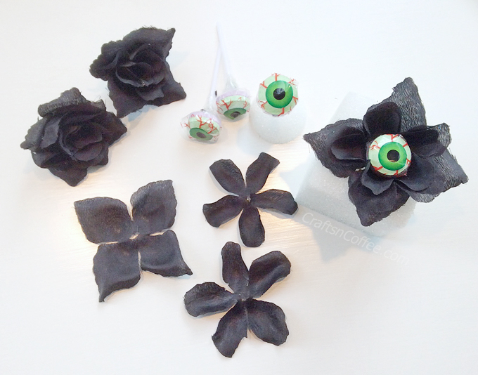 Halloween Black Rose Lollipop Bouquet Tutorial