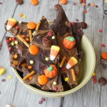 Halloween: Chocolate Peanut Butter Bark Recipe