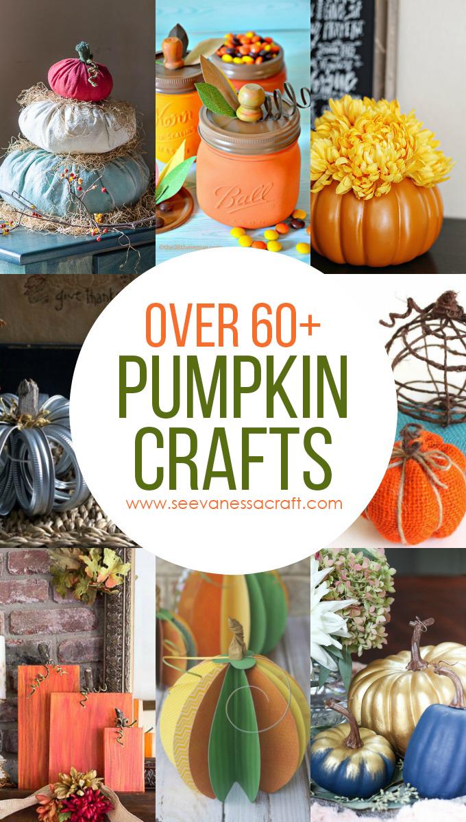 Pumpkin Craft Tutorials for Halloween and Thanksgiving