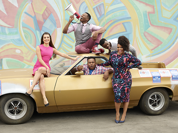 LEA MICHELE, BRANDON MICHEAL HALL, MARCEL SPEARS, BERNARD DAVID JONES, YVETTE NICOLE BROWN