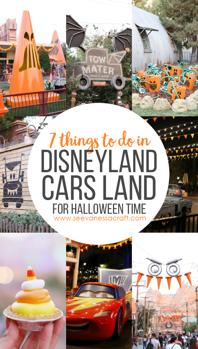 7 Things To Do in Disneyland Cars Land for Halloween Time