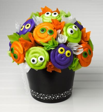 Halloween Cupcake Bouquet Tutorial