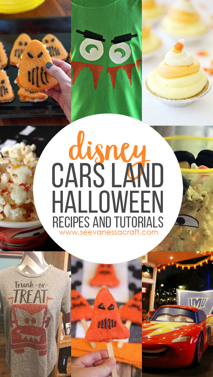 Disney Halloween Time Cars Land Crafts and Recipes copy
