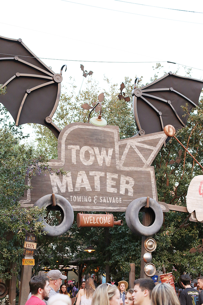 Disneyland Cars Land Halloween 2 copy