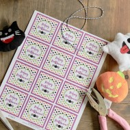 Halloween Printable Tags 1