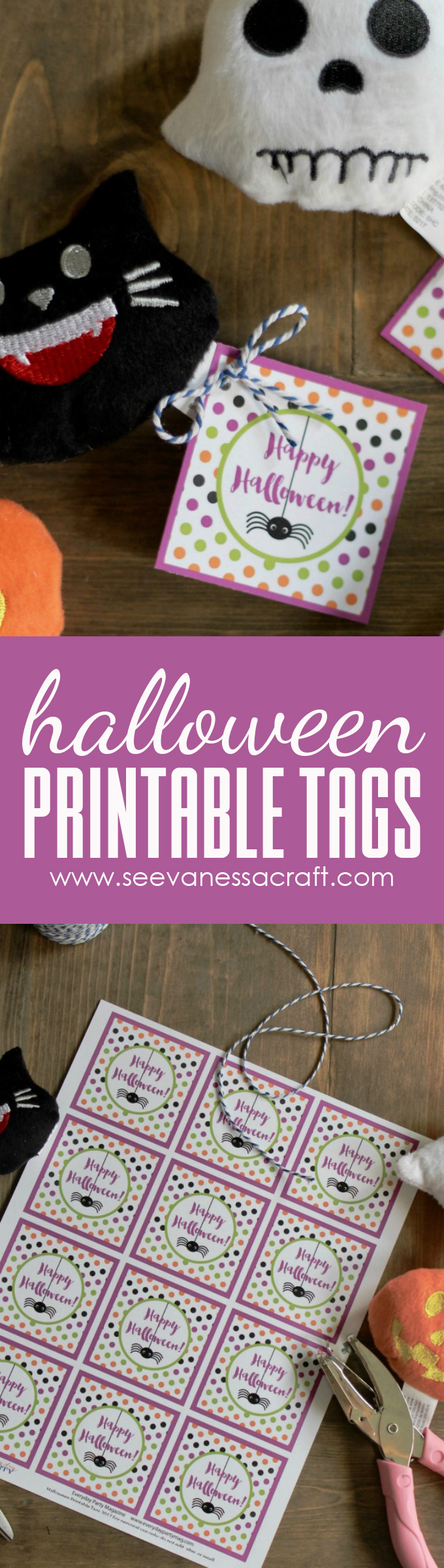 Halloween Printable Treat Tags