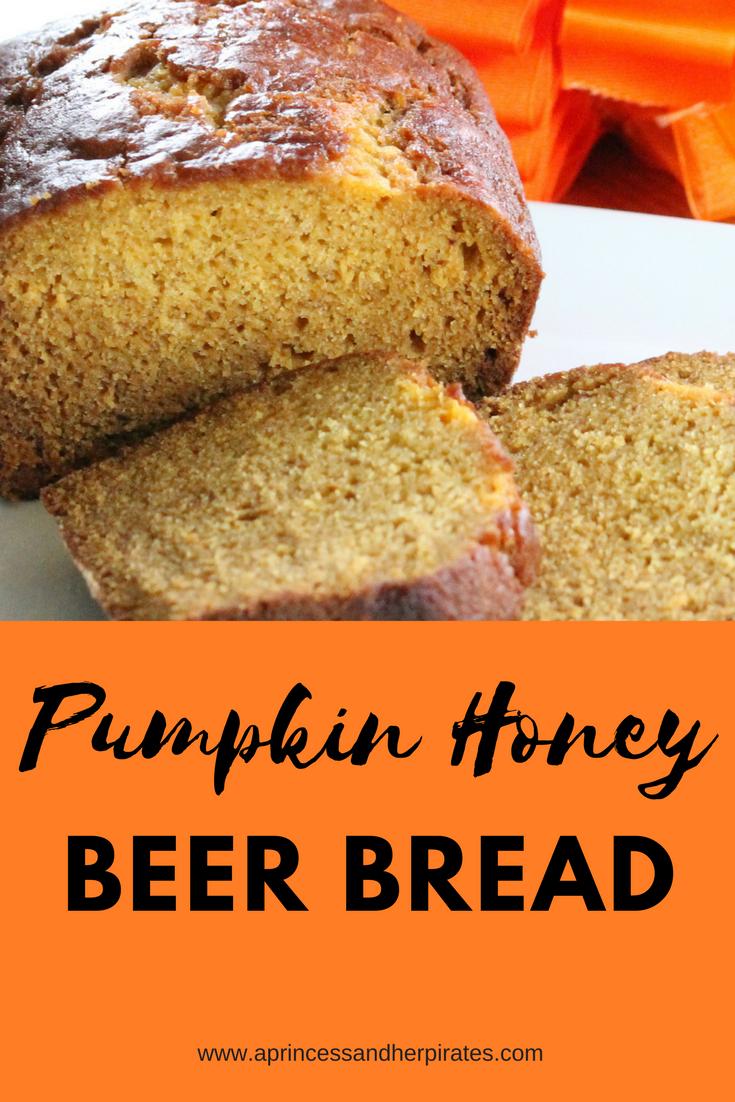 Pumpkin-Honey-beer-bread