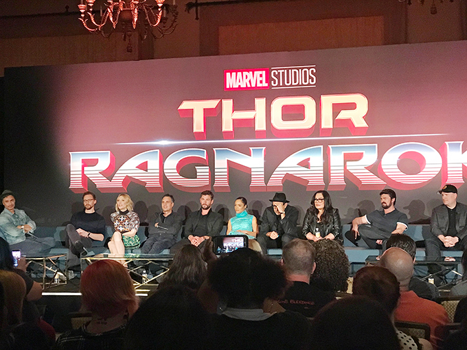 Thor Ragnarok Press Conference 1 copy