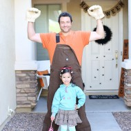 Halloween: DIY Wreck It Ralph Costume