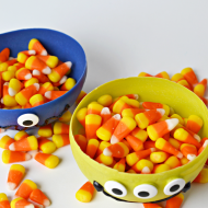 Halloween: Monster Chocolate Candy Bowls