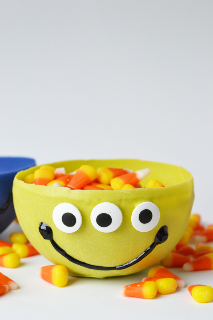 edible monster candy bowl