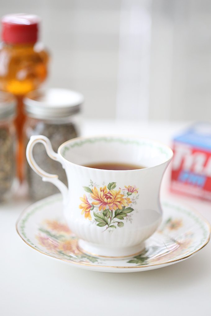 Lavender Chamomile Tea with Honey Recipe copy