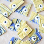 Recipe: Despicable Me 3 Minions Chocolate Bark