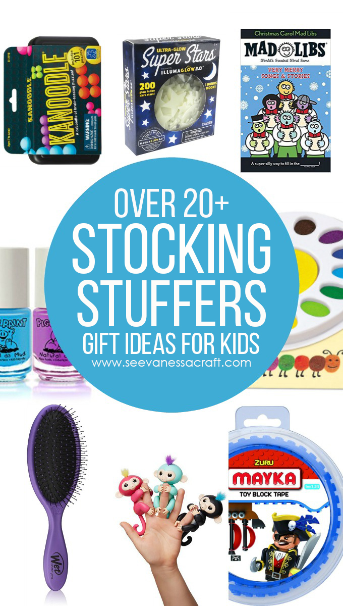 Over 20 Stocking Stuffer Idea for Kids copy