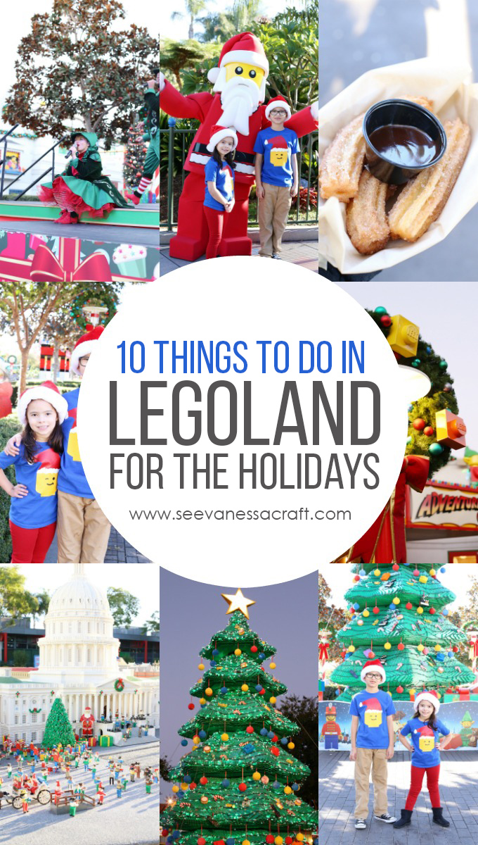 Things To Do in LEGOLAND California for the Holidays copy