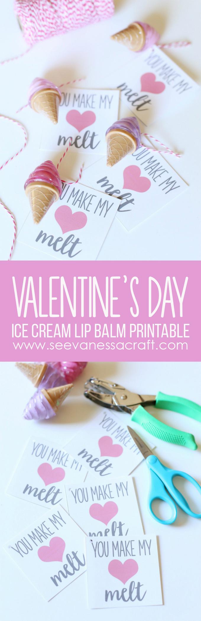 You Make My Heart Melt Valentine Printable copy