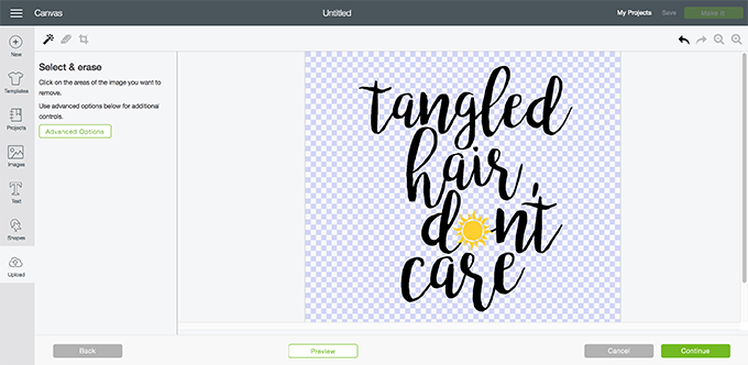 How to upload a jpg image in cricut design space
