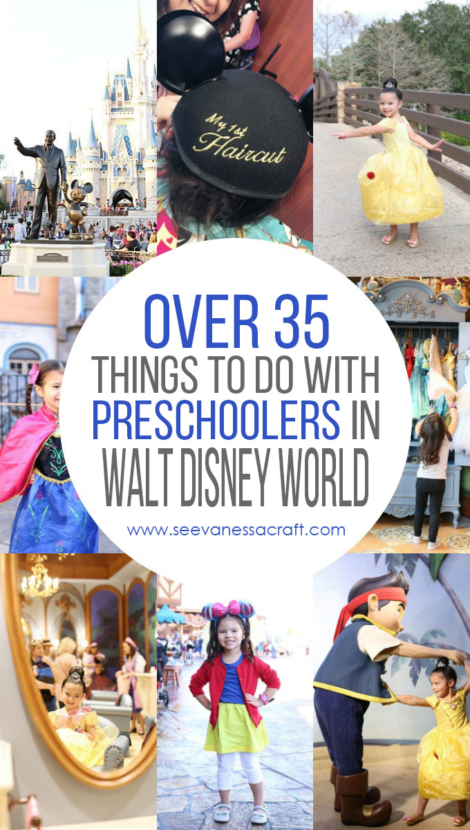 Over 35 Things To Do With Preschoolers and Kids in Walt Disney World