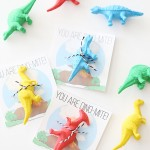 Valentine's Day: Printable Dinosaur Cards for Kids