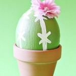 Easter: Painted Saguaro Cactus Easter Egg